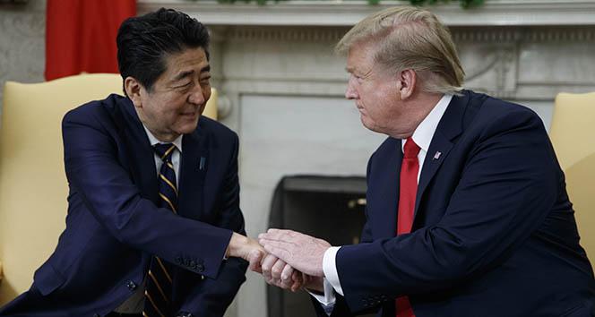 Abe ve Trump telefonda görüştü