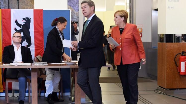 Almanya'da seçim sonuçları açıklandı