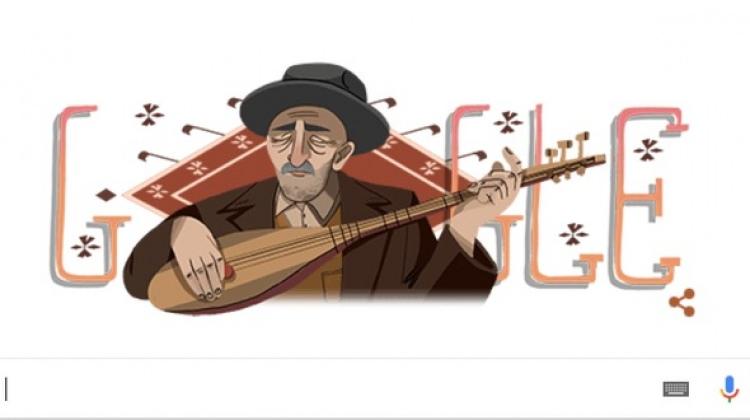 Aşık Veysel'in 123. Yaş Günü doodle oldu!