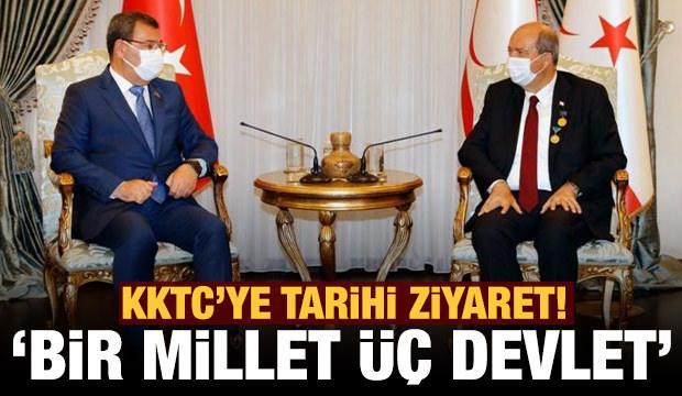 Azerbaycan'dan ilk kez KKTC'ye resmi ziyaret!
