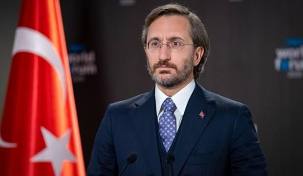 Fahrettin Altun'dan Selahattin Demirtaş'a çok sert tepki: Aklı sıra tehdit ediyor