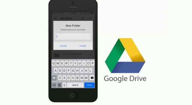 Google Drive artık iPhone'ları yedekliyor