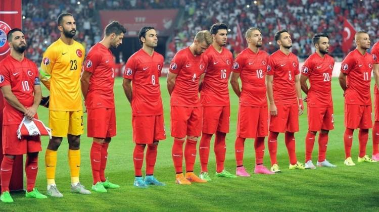 Kosova maçı öncesi anlamlı pankart!