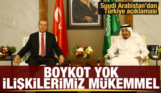 """Suudi Arabistan Dışişleri Bakanı: """"Türkiye ile iyi ve mükemmel ilişkilere sahibiz"""""""